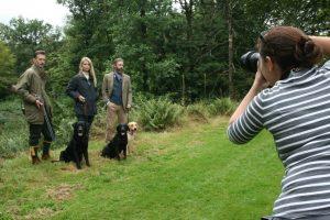 Browsholme film shoot